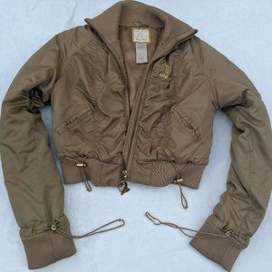 Baby Phat Puffy Cropped coat
